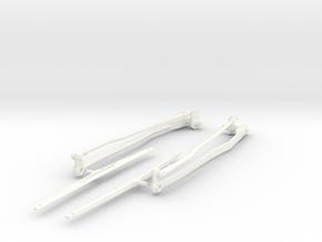 Airwolf Scale Wiper 50 Size in White Processed Versatile Plastic