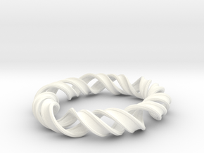Bangle_structure_of_DNA in White Processed Versatile Plastic