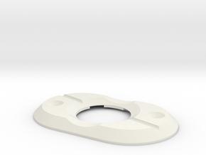Diode Holder V6 in White Natural Versatile Plastic