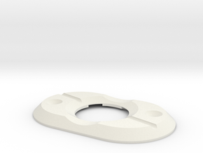 Diode Holder V6 in White Strong & Flexible