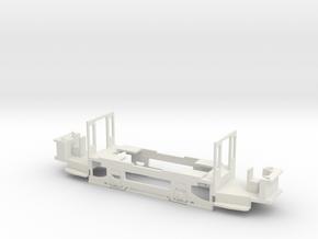 Verbandstyp II Triebwagen Fahrwerk Rhein-Neckar in White Natural Versatile Plastic