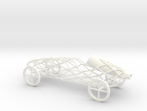 balloon toy car in White Strong & Flexible Polished