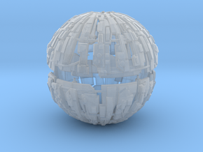 600m Cyborg Sphere 1/9000 Scale in Smooth Fine Detail Plastic
