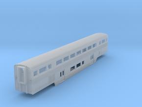 Amtrak California Car Baggage Coach in Smooth Fine Detail Plastic