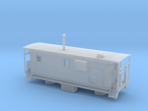 DMIR K1 Tbird Caboose - Nscale in Smooth Fine Detail Plastic