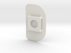 AirGo Lid (2 of 3) in White Natural Versatile Plastic