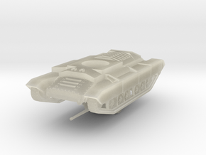 Vehicle- Valentine Tank MkII (1/87th) in Transparent Acrylic