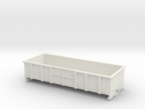 LC Wagon, New Zealand, (HO Scale, 1:87) in White Natural Versatile Plastic