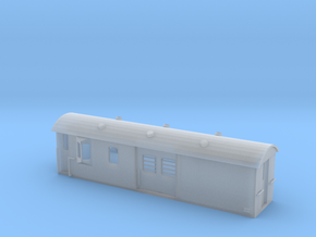 30ft Guards Van, New Zealand, (HO Scale, 1:87) in Smooth Fine Detail Plastic