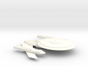 Excalibur-class in White Processed Versatile Plastic