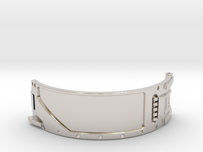 The Island ID Bracelet Top Replica Prop in Platinum