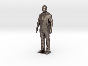 Scott V - Pre Maker Faire Meetup May 2014 in Polished Bronzed Silver Steel