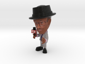 Mario ch 9 orlando news reporter with hat in Full Color Sandstone