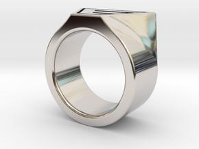 Dr Evil Ring Size 11 in Platinum