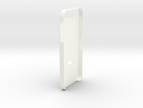 iPhone 5 Sim Release Cover in White Processed Versatile Plastic