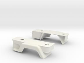 Steps-wings in White Natural Versatile Plastic