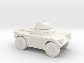 1:144 Daimler FERRET in White Natural Versatile Plastic