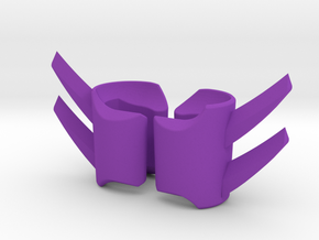 ModiBot Ripper Gauntlet Set in Purple Strong & Flexible Polished
