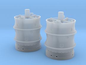 Aussenlastbehälter-NRW mit Innenausstattung 2Stck in Smooth Fine Detail Plastic
