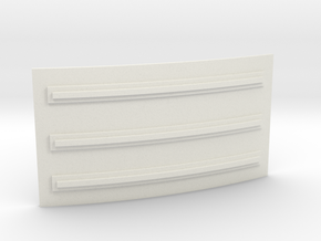 Apollo SM Rad Panel Small 1:10 in White Natural Versatile Plastic