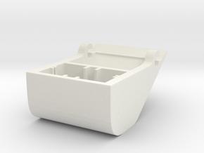 Tin/Plastic Foil Cutter in White Natural Versatile Plastic