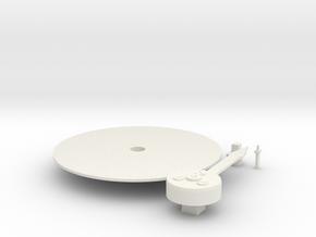Dual Gauge Neddle Set in White Natural Versatile Plastic