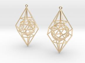 Quntessence (Symmetry) in 14K Yellow Gold
