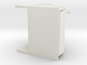 CashRegister 80mm 2 in White Natural Versatile Plastic