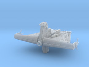 Stronghold Battleship in Smooth Fine Detail Plastic