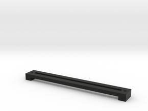 Inner Slide Cover in Black Natural Versatile Plastic