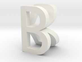 BK in White Natural Versatile Plastic