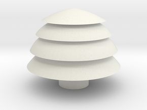 Tree container in White Strong & Flexible
