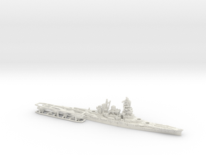 IJN BB Hiei [1942] in White Natural Versatile Plastic: 1:1800