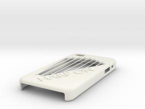 IphoneCovers-HARPON in White Natural Versatile Plastic