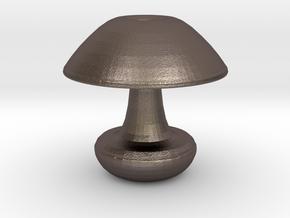 Mushroom Vase in Stainless Steel
