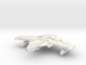 Nemval Class Cruiser  in White Natural Versatile Plastic