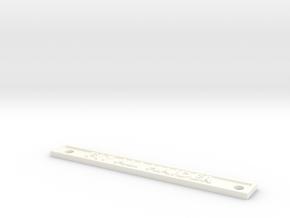 F17 ALI HAIDER in White Processed Versatile Plastic