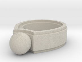 Marble Ring in Sandstone