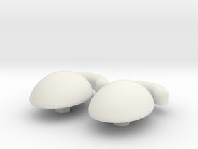 Mr. Potato Head Eyes 2 in White Natural Versatile Plastic