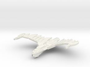 HawkWing Class Cruiser (wings Up) in White Natural Versatile Plastic