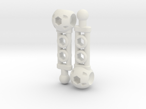 NEW! ModiBot Mech Shin Set in White Strong & Flexible