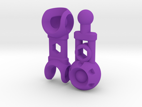 NEW! ModiBot Mech Cyborg Arm in Purple Strong & Flexible Polished