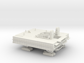 1/144 Shuttle MLP & Crawler in White Strong & Flexible