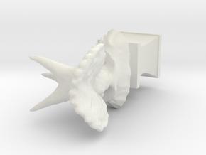 Test-extrude-trike5 (repaired) (repaired) (repaire in White Natural Versatile Plastic