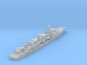 HMS Exmouth 1:1250 & 1:600 in Smooth Fine Detail Plastic: 1:1250
