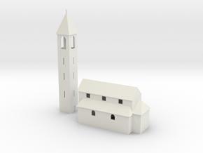 Kirche / church of San Nazzaro in White Natural Versatile Plastic