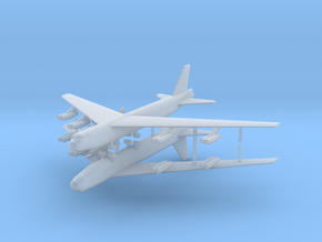 1/600 Experimental Aircraft Set 2 in Smooth Fine Detail Plastic