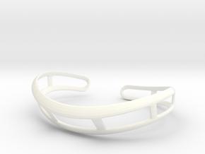 Ophidia in White Processed Versatile Plastic