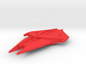 G'quan Class Heavy Cruiser in Red Strong & Flexible Polished