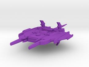 Primus Class Battle Cruiser in Purple Processed Versatile Plastic